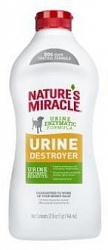 Уничтожитель пятен и запахов от мочи собак 8in1 Natures Miracle Urine Destroyer 945 мл